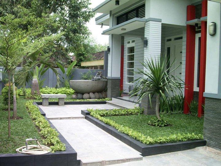 Taman Indah Dan Asri Untuk Kreasi Halaman Rumah Rumah Blog Dummy
